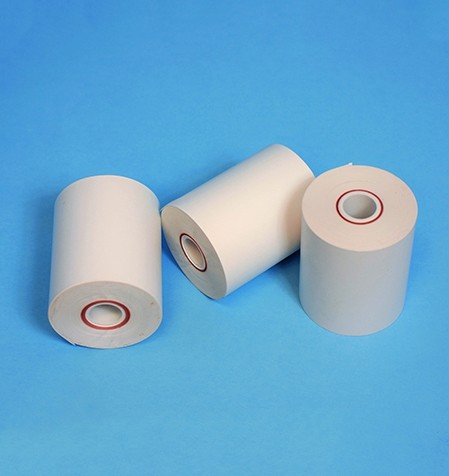 "Polythermal Receipt Paper, 3.125"" (53 Linear feet per roll)"