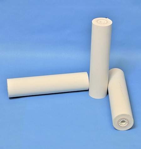 "Receipt Paper Premium 8.5"" w/Perforation and Black Mark, 6 rolls (78 Linear feet per roll)"